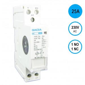 GACIA HC-2511 Inst.relais 25A/1NO+1NC/230VAC