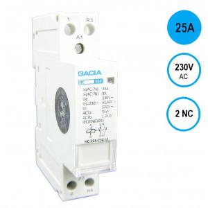 GACIA HC-2502 Inst.relais 25A/2NC/230VAC