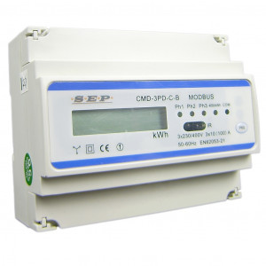 SEP CMD3PD-C KWH-meter 3f indirect 5A + RS485
