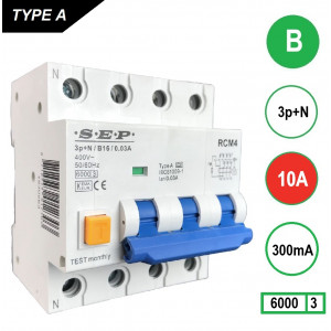 SEP RCM4-B10-300mA