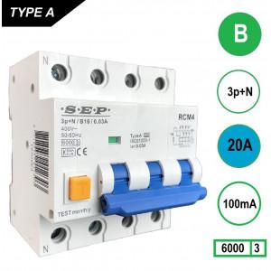 SEP RCM4-B20-100mA
