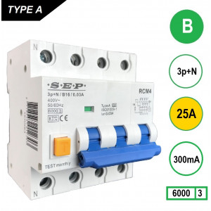 SEP RCM4-B25-300mA
