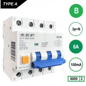 SEP RCM4-B6-100mA