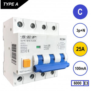 SEP RCM4-C25-100mA